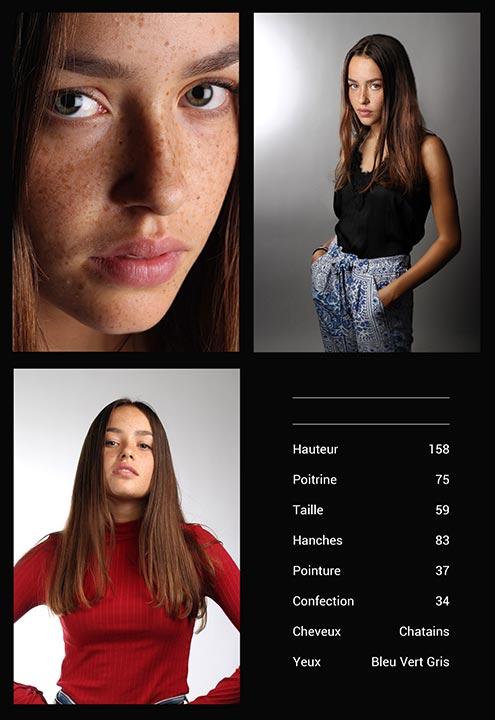 Composite Modèle Agence Mannequin Marseille Avignon Aix